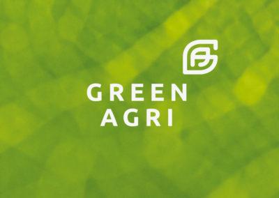 Prometeodesign - Green Agri - Logo